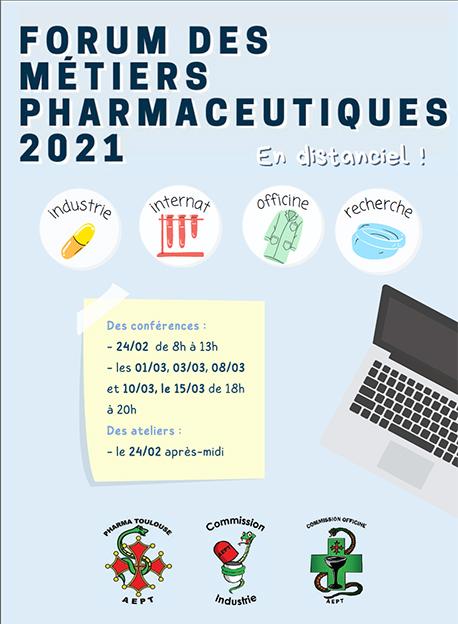 Forum des Métiers Pharmaceutiques 2021