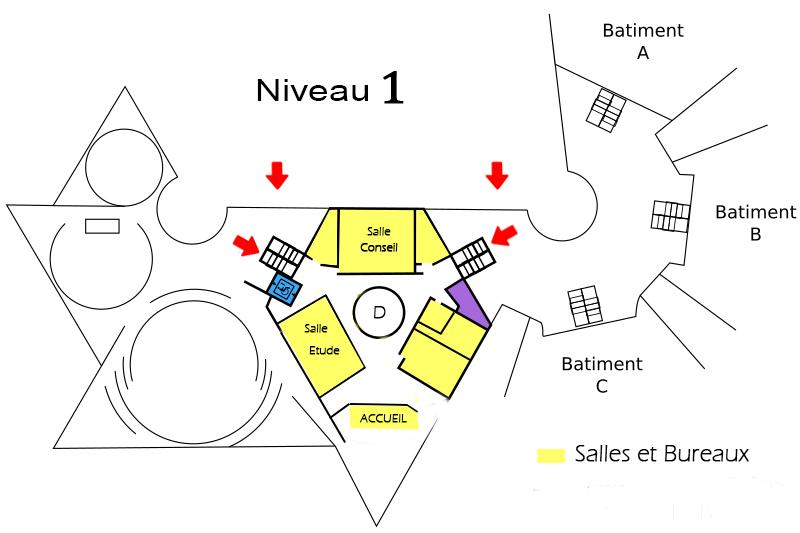 Plan du niveau 1
